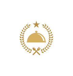 beer food logo icon design vector image