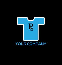 Creative t-shirt silkscreen logo design vector