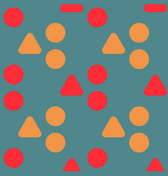 Uneven hills seamless pattern vector