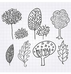 TreeLeaf vector image