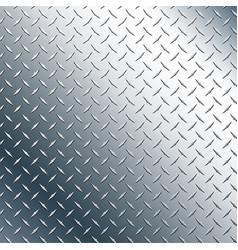 chrome diamond plate vector image