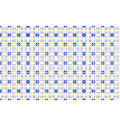 a pattern of colored triangles on a white vector image