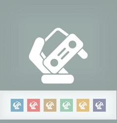 automotive symbol vector image