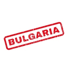 Bulgaria Rubber Stamp vector image