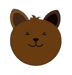 Cat cartoon pet animal icon image vector