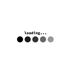 Download sign load icon load system data load vector