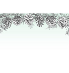 Festivev background template with seamless pattern vector