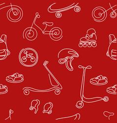 pattern sport vector image