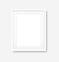 picture frame isolated vector image
