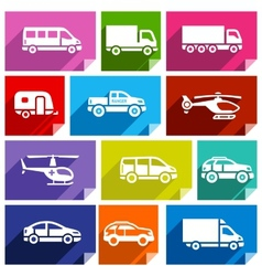 Transport flat icon bright color-03 vector