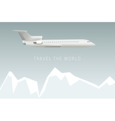 travel world vector image