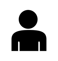 user pictogram icon image vector image