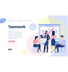 web page design template vector image