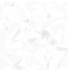 abstract white background low poly vector image