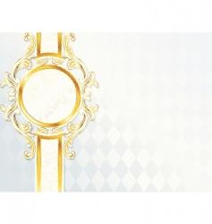 wedding banner vector image vector image