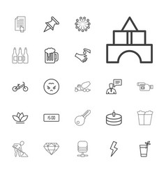 22 icons vector