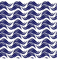 abstract waves seamless pattern vector image