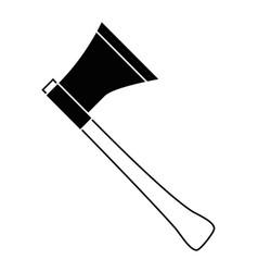 Axe gardening tool vector