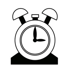 Clock alarm hour school design icon vector