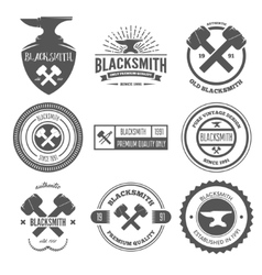 Collection logo elements or logotypes vector