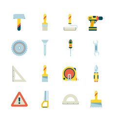construction icon building industry equipment vector image