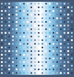 glowing square pattern seamless gradient vector image