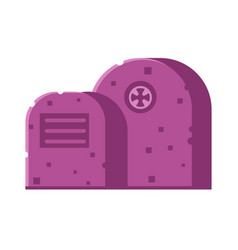 Gravestone icon vector