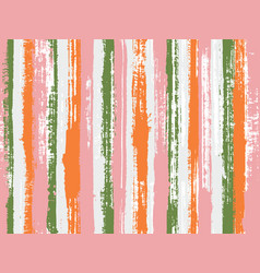 paintbrush artistic lines fabric seamless print vector image