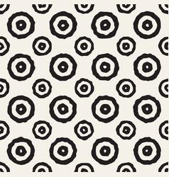 rough line hand drawn circles seamless vector image