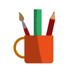 stationery tool icon image vector image