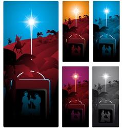 nativity vector image vector image