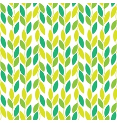 Seamless nature pattern with vines and vector image vector image