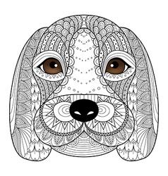 Beagle puppy vector