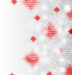 Futuristic set squares abstract background vector image vector image