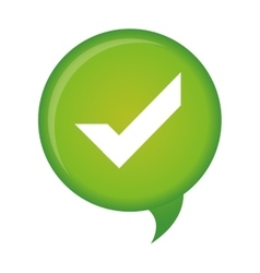 Check mark icon image vector