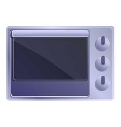 Home con oven icon cartoon style vector