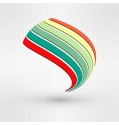 Logo Design Icon Concept Abstract Leaf vector