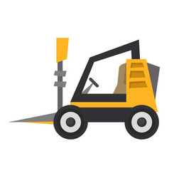 Mini loader icon flat style vector
