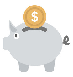 Money saving vector