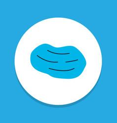 Potato icon colored symbol premium quality vector