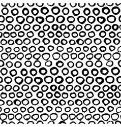 Seamless black and white graphic hand drawn vector