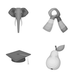 zoo institute and other monochrome icon in vector image
