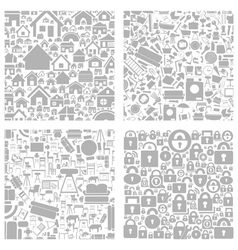 House a background2 vector image vector image