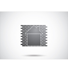 House abstract real estate vector image vector image