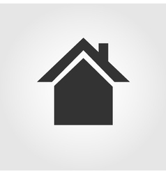 House icon flat design vector image