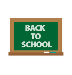 school board icon flat cartoon style isolated vector image vector image