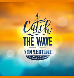 banner for summer beach vacation vector image