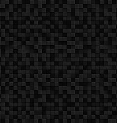 Black texture seamles pattern Background vector image