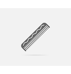 Comb Hairbrush Element or Icon Ready for Print or vector