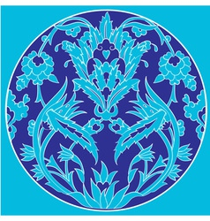 Ottoman motifs design series with twenty one vector